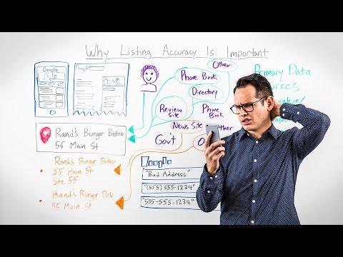 Why Listing Accuracy is Important - Whiteboard Friday