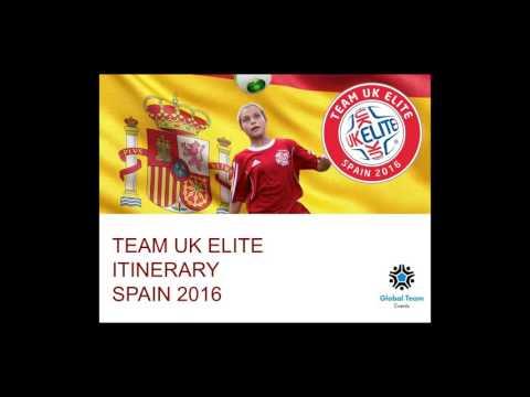 Team UK Elite 2016 Soccer Tour Presentation