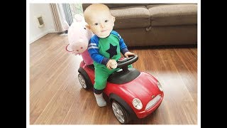 LITTLE BABY JOSH NEW RED MINI CAR TOY