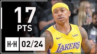 Isaiah Thomas Full Highlights Lakers vs Kings (2018.02.24) - 17 Points, CLUTCH!