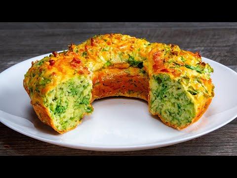 Листья САЛАТА и сыр - все, что нужно для этого потрясающе вкусного закусочного кекса..| Appetitno.TV