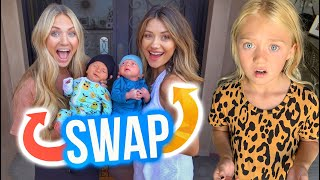 Swapping Babies With Madison To See If Everleigh Notices...