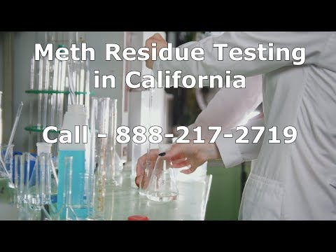 Methamphetamine Testing California