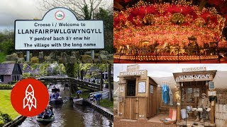 Five of the Most Bizarre and Fun Towns in the World