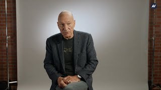 Patrick Stewart calls on men to take responsibility for violence against women