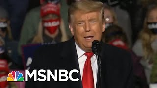 Trump Jokes He Didn't Plan On Campaigning In Erie, Pa. | Morning Joe | MSNBC