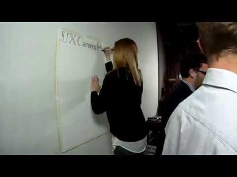 Sketchnote of UX Mastery Careers Panel at Loop Bar