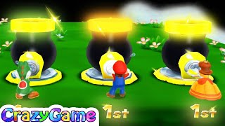 Mario Party Island Tour - Top 20 Funnest Minigames Gameplay