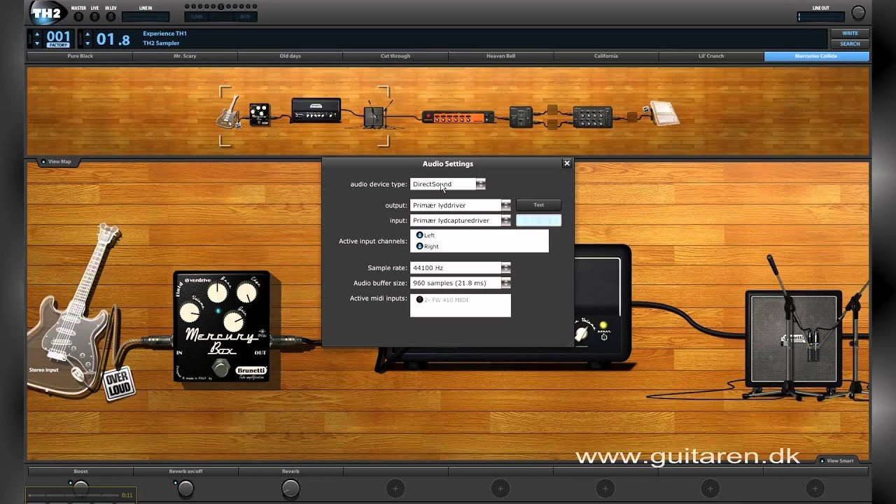 Overloud th1 custom guitar effects suite ver 1. 1.
