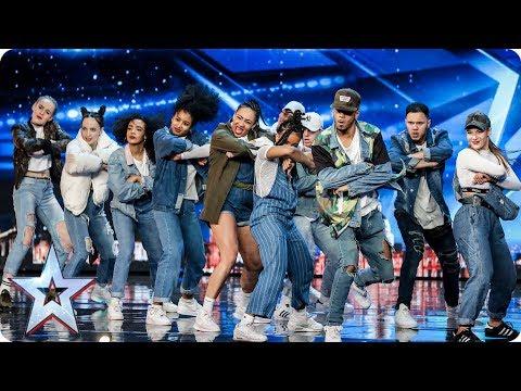 Empire Dance Crew perform Little Mix dance tribute | Auditions Week 7 | Britain's Got Talent 2017