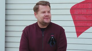 James Corden Goes For A Ride In His Dream Car | Jay Leno's Garage