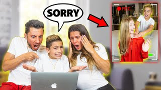 REACTING To Our SON Being HOME ALONE! (SHOCKING!!) | The Royalty Family