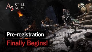 A3: STILL ALIVE opens pre-registration