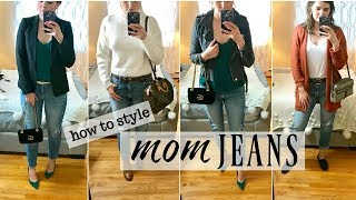 HOW TO STYLE: MOM JEANS | BeautyByEwa