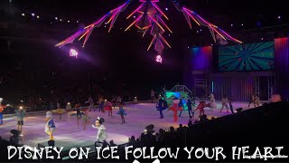 Disney On Ice Follow Your Heart FULL SHOW | Golden 1 Center Sacramento ? 2/18/18