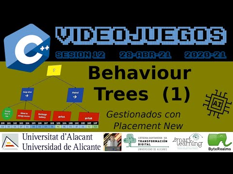 C++ : Behaviour Trees (1) #AI #Videojuegos2 #UA [ S12.2021 ]