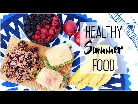 Healthy & Easy Summer Food // Beach Snacks & Picnic Treats, Vegan