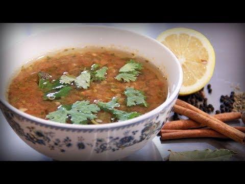 Индийский суп расам. Очень яркий, зараза!