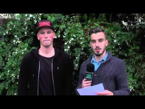 Tim Heysen und Malte Wilhelm (beide Niendorfer TSV) tippen den 10. Spieltag der Oberliga Hamburg | ELBKICK.TV