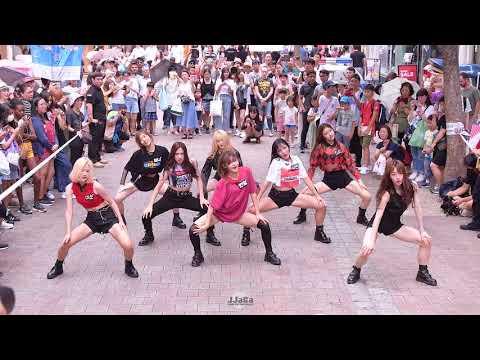 [4K] 180728 드림노트 전체 직캠 (DREAM NOTE Focus) -'댄스 퍼포먼스' (Fancam) By.JJaGa !서프라이즈 버스킹 @명동 우리은행