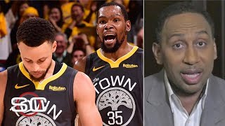Steph Curry needs to shoot better, Kevin Durant must be fed in Game 4 - Stephen A. | SportsCenter