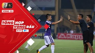 Vòng 23 V.league 2019 | Ngược dòng ấn tượng, Hà Nội tiến gần mục tiêu bảo vệ ngôi vương | VPF Media