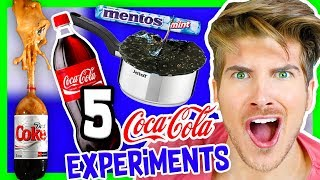 5 INSANE COKE EXPERIMENTS!