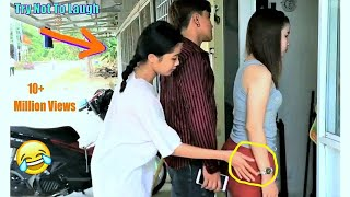 Funny Comedy Videos Try Not To Laugh Challenge - Funny Prank Episode 5 | V-Series