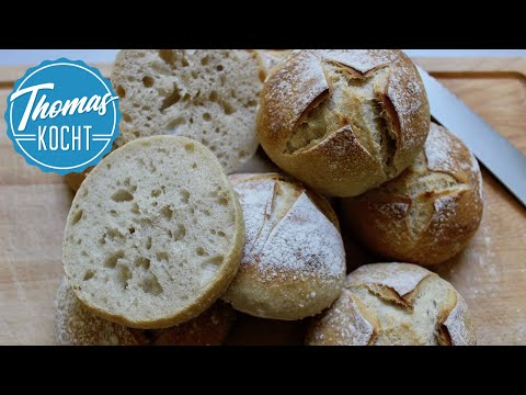 Weizensauerteig Brötchen - einfach gut!