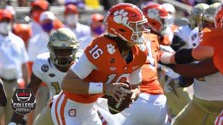 Clemson Tigers vs. Georgia Tech Yellow Jackets   2020 College Football Highlights
