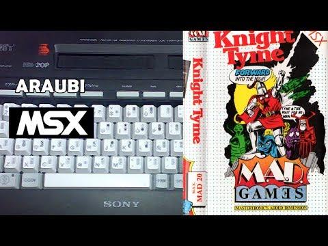 Knight Tyme (Mastertronic, 1986) MSX [323] Walkthrough