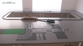 OLD Video! Updates on my channel! My LEGO city update June 4, 2013 - Tables, train test