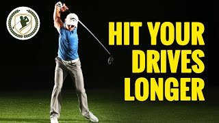 HOW TO HIT YOUR DRIVES LONGER - GOLF DRIVER INFORMATION