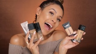 MY TOP FAVORITE FOUNDATIONS | DESI PERKINS