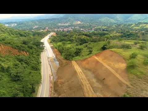 STRABAG Columbia: Construction progress of Autopista al Mar - August 2020