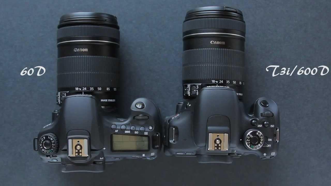 Canon R vs Canon 600D Comparison Review  | tremarcomwi ga