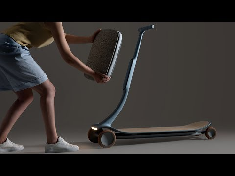 Layer and Nio's intelligent Pal scooter learns your favourite routes