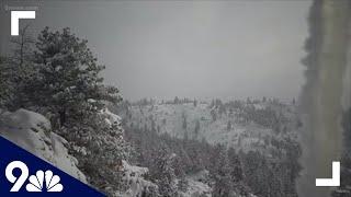 Snow creates a winter wonderland in Colorado's mountains