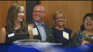 Josh receives Best & Brightest honor from Cystic Fibrosis Foundation