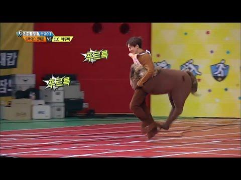 【TVPP】BTOB- YookMong & Seo EunMa, 비투비- 육몽 & 서은마 등장!@2016 Idol Star Championships