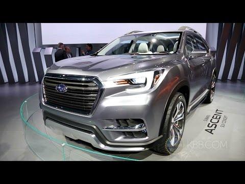 Subaru Ascent Concept - 2017 New York Auto Show
