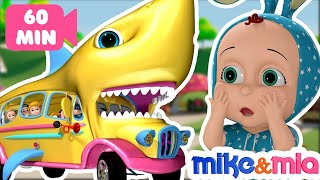 Baby Shark | Nursery Rhymes and Kids Songs | Mike and Mia - YouTube