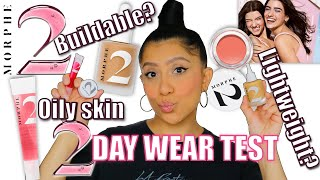 NEW! MORPHE 2 HINT. TINT. GLOW + 2 DAY WEAR TEST & FULL REVIEW   MagdalineJanet