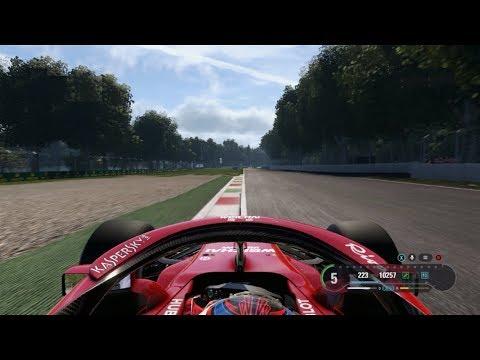 F1 GP Italia 2018 Monza (Clasificación y Carrera / Start & Race)    Español F1 2018 PC