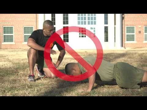 Physical Fitness Test | How to Execute a Proper Push-up