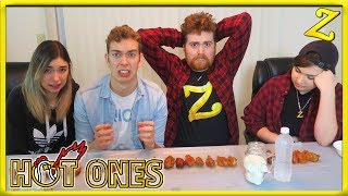 The Hot Ones Challenge! | Ft. Shubble, ParkerGames & Cheese!