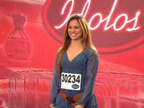 Barbara Amorim no Idolos Brasil