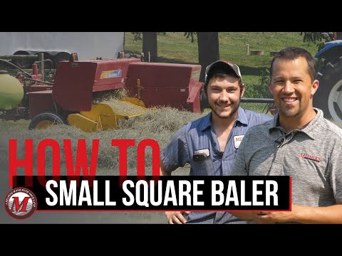 Ride Along: Small Square Baler with Rick's Custom Baling Picture