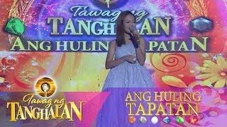Tawag ng Tanghalan: Janine Berdin | With A Smile (Ang Huling Tapatan Day 2)