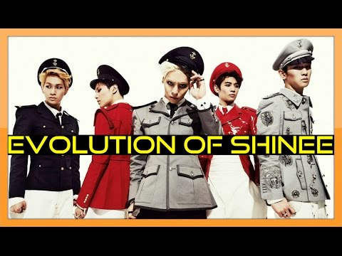 EVOLUTION OF SHINEE (샤이니) - Tribute to K-POP LEGENDS!